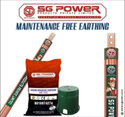 Copper Maintenance Free Earthing, Sgp, 40-100 Mm