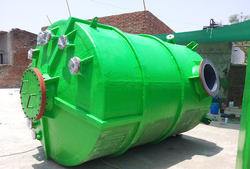 PP FRP Sulfuric Acid Storage Tank