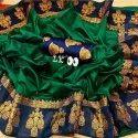 Indian Women's Sana Silk Saree