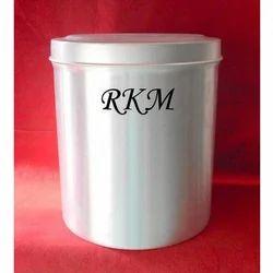 Aluminum Round Storage Container