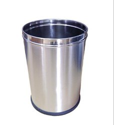 Parasnath Stainless Steel Plain Open Dustbin