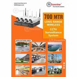 700 Meter Trueview CCTV Surveillance System