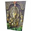 3d Ganesha Ceramic Wall Tiles, Thickness: 8-12 Mm, Size: 6x4 Feet