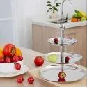 Stainless Steel 3 Tier Cake Stand