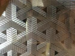 Stainless Steel Interlock 3D Designer Sheets