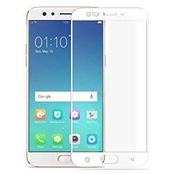 Oppo F3 Plus White Tempered Glass