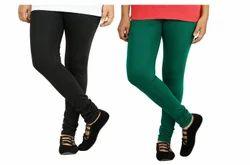 2 Sfa Cotton Lycra Full Length Women Leggings