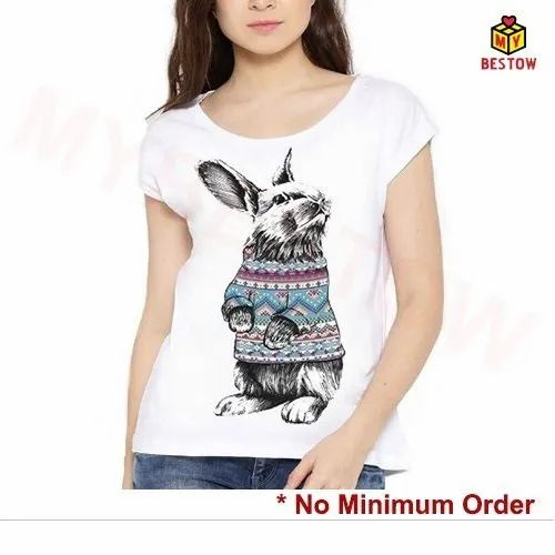 Printed T-Shirts - Colored T Shirt Manufacturer from Thane