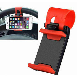 Black And Red Plastic Mobile Holders