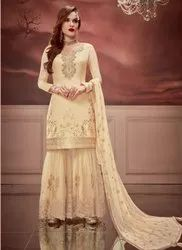 Eid Special Russian Silk Sharara Suits