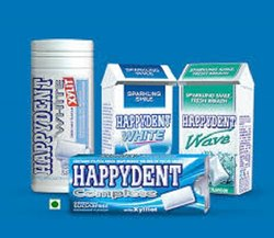 Rectangular Candy Happydent