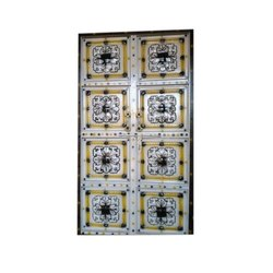 Rectangular Safety Double Iron Door