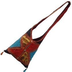 Multicolour Embroidery Shoulder Bag