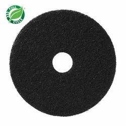 Black Floor Cleaning Pad