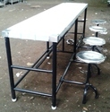 4 Seat MS Dining Table For Mess