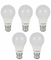 Halonix White 7 W LED Bulb - Set Of 5