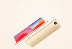 Gold Redmi 6A Phone