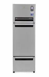 Whirlpool 260 L Frost Free Triple Door Refrigerator (FP 283D PROTTON ROY, Alpha Steel (N))