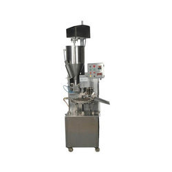 Single Head Tube Filling Machine