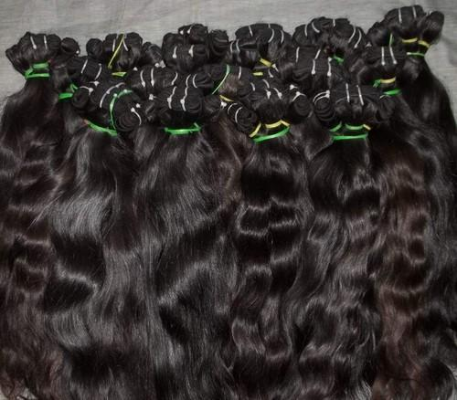 FOREVER HAIR Black Indian Remy Temple Hair, for Personal and Parlour, Rs 2300 /piece | ID: 18984682097
