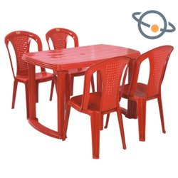 Plastic Table Chair Set