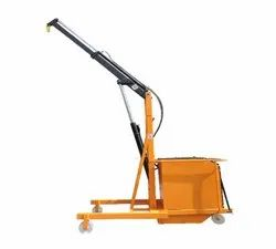 0.5 Tons Electric Battery Floor Crane