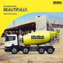 Grey RMC / Concrete, in DELHI NCR, Packaging Size: Truck