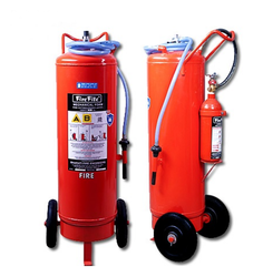 Mild Steel Trolley Mounted Fire Extinguishers