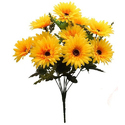 Artificial Synthetic Gerbera Flower Bunch
