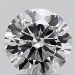 1.64ct Lab Grown Diamond CVD F VVS2 Round Brilliant Cut IGI Crtified Type2A