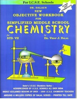Dalal Icse New Objective Workbook For Simplified Middle School Chemistry  Class 7