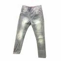 Plain Casual Wear Mens Designer Jeans, Waist Size: 36