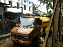 Sewage Suction Truck Rented Vehicle