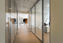 Demountable Glass Office Partition