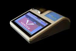 Vertex Automatic Tracker Touch POS Billing Machine, For Restaurant