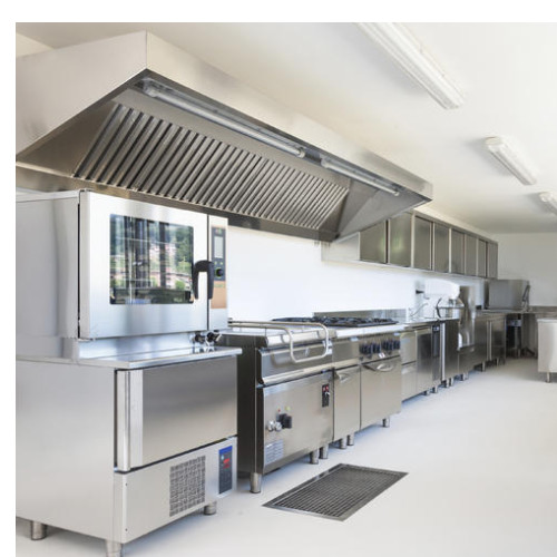 Silver Color 304 Stainless Steel Commercial Kitchen Exhaust Ventilation  System, Rs 92000 /unit | ID: 20304636391