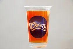 Transparent 300ml Cheers Plastic Glass, For Restaurant, Size: 80 Diameter