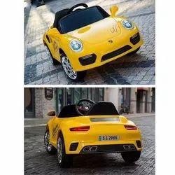 Single Kids Yellow Car, Two Motor