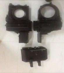White & Black 4 Wheelar Parts