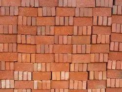 Square Red Bricks