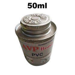 AVP Industries Liquid 50ml PVC Pipe Adhesive, Grade Standard: Industrial Grade, Packaging Type: Tin Can