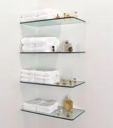 Glass Corner Rack