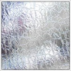 Toughened  Crackle Glass