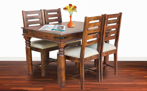 Maple Finish Furniselan Four Chair Dining Table Set Rs 23000 Piece Id 17062233930