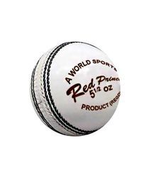 Red Prince White Cricket Ball