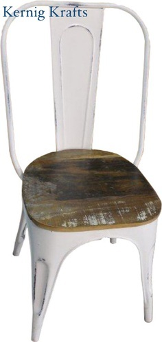 Kernig Krafts Metal Stackable Cafe & Restaurant Chair