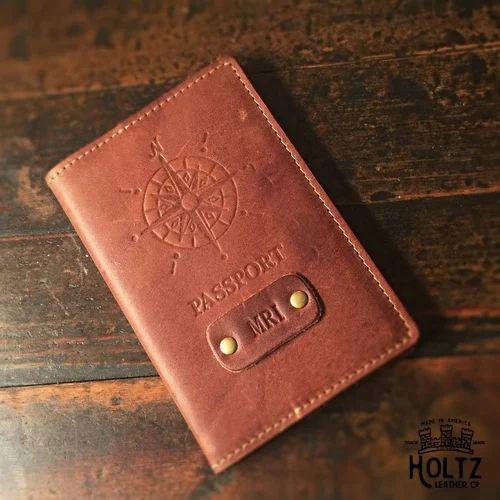 a0b8cff06521 Customized Leather Passport Holder