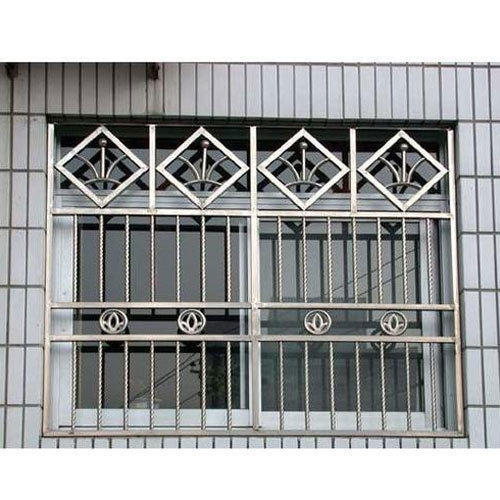 Stainless Steel Designer Window Grill Ss Window Grills