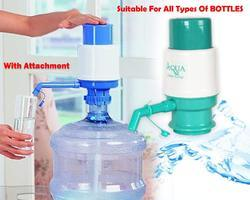 Deodap Push Manual Aqua Water Pump Dispenser For Bottled Drinking