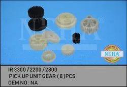 Pick Up Unit Gear ( 8 )Pcs  , IR 3300 / 2200 / 2800